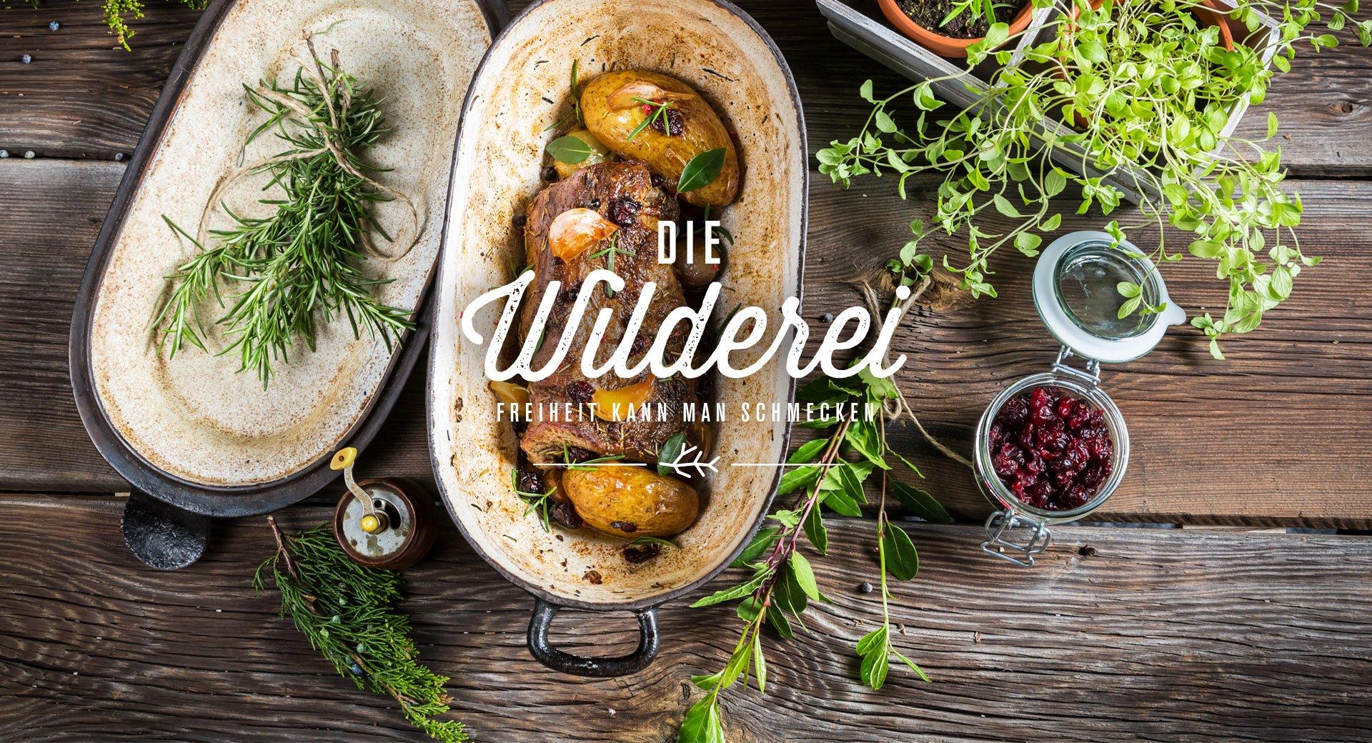 Die Wilderei | Wildbret und Fleisch in allerbester Qualität